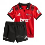 Camiseta Ninos Kit Crusaders Rugby 2018 Local