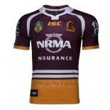 Camiseta Brisbane Broncos Rugby 2017 Local