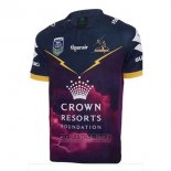 Camiseta Melbourne Storm 9s Rugby 2017 Local