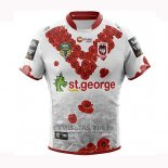 Camiseta St George Illawarra Dragons Rugby 2018-2019 Conmemorative