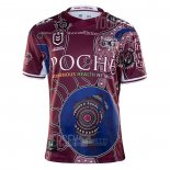 Camiseta Manly Warringah Sea Eagles Rugby 2020-2021 Conmemorative