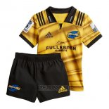 Camiseta Ninos Kit Hurricanes Rugby 2018 Local