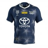 Camiseta North Queensland Cowboys 9s Rugby 2020 Azul