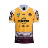 Camiseta Brisbane Broncos Rugby 2018-2019 Commemorative