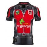 Camiseta St. George Illawarra Dragons Ant Man Marvel Rugby 2017 Gris Rojo