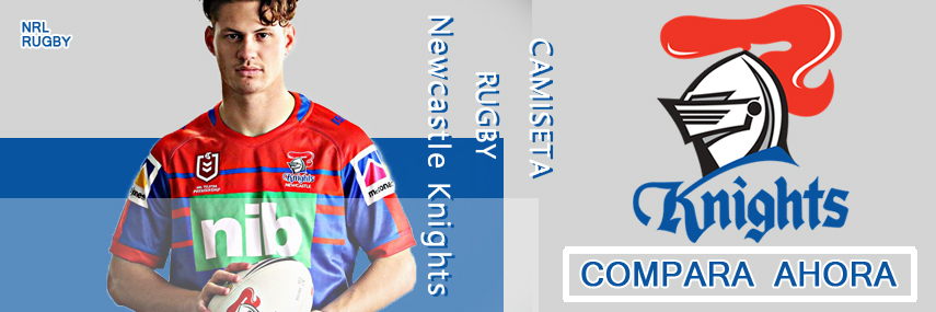 camiseta rugby Newcastle Knights baratas