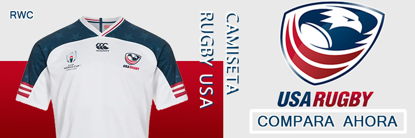 camiseta rugby USA Eagle baratas