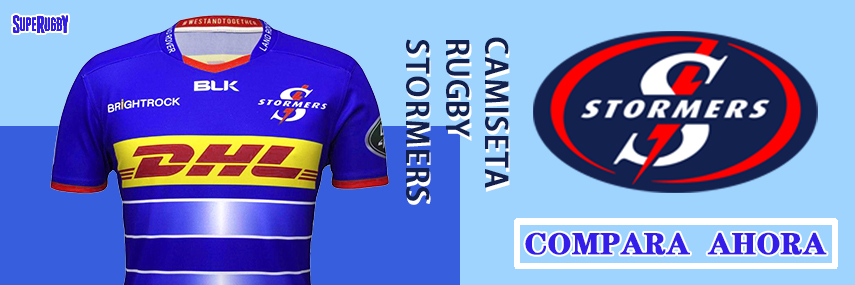 camiseta rugby Stormers baratas